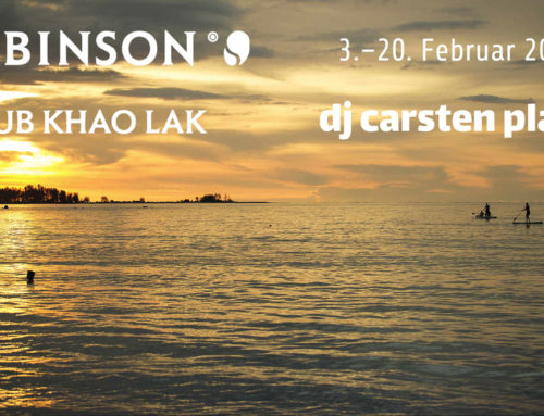 Start in die Robinson Club Saison in Khao Lak, Thailand