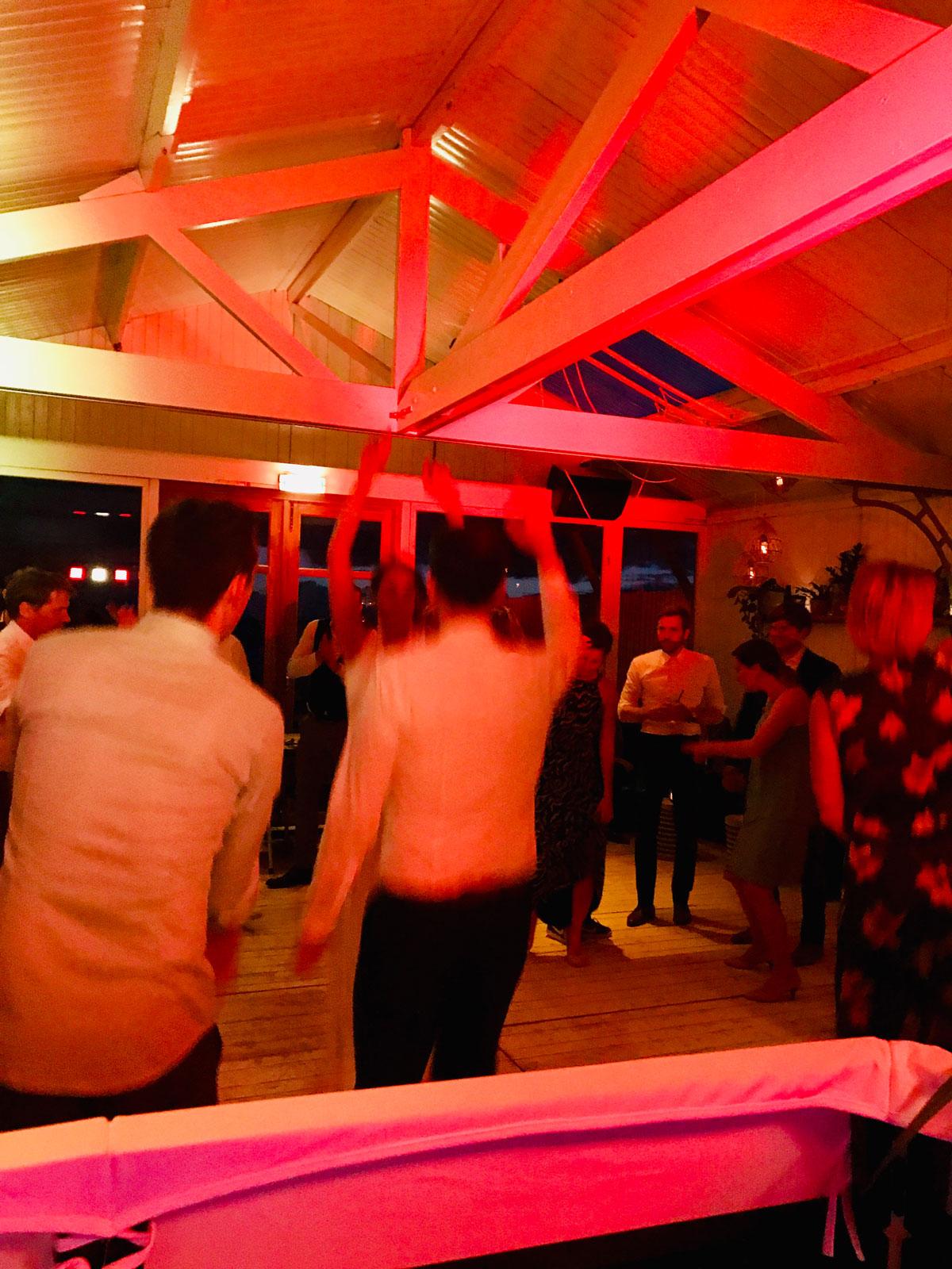 Hochzeitsfeier im Hippie Fish, Zandvoort