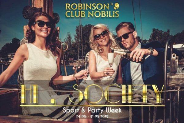 DJ Carsten Plank im Robinson Club Nobilis, Türkei
