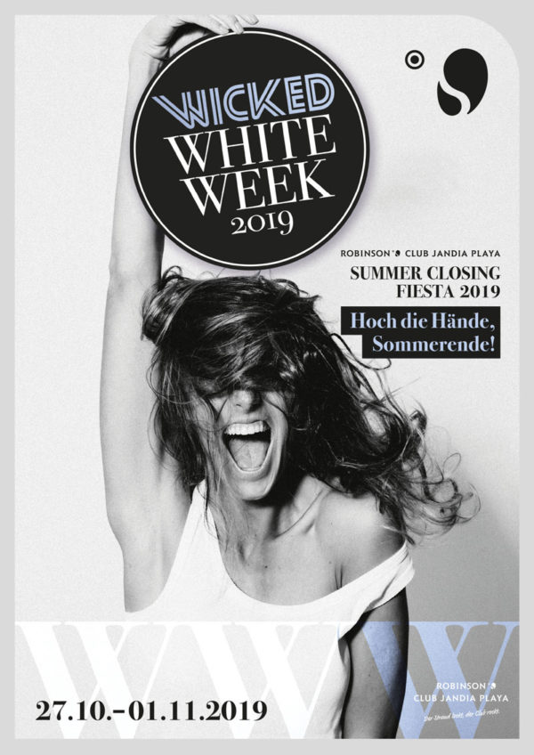 Robinson Club Jandia Playa Event Wicked White Week 2019 Poster