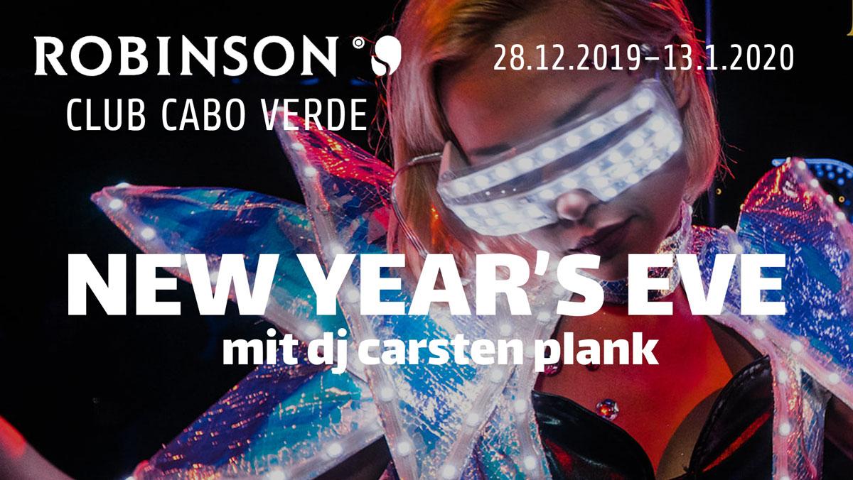 New Year's Eve mit DJ Carsten Plank im Robinson Club Cabo Verde, Kapverden