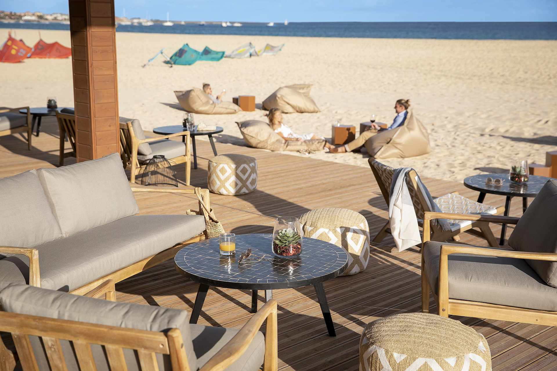 Strandbar des Robinson Club Cabo Verde